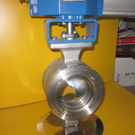 wafer type V-port ball valves