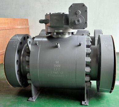 LF2 Forged Steel Trunnion Ball Valve